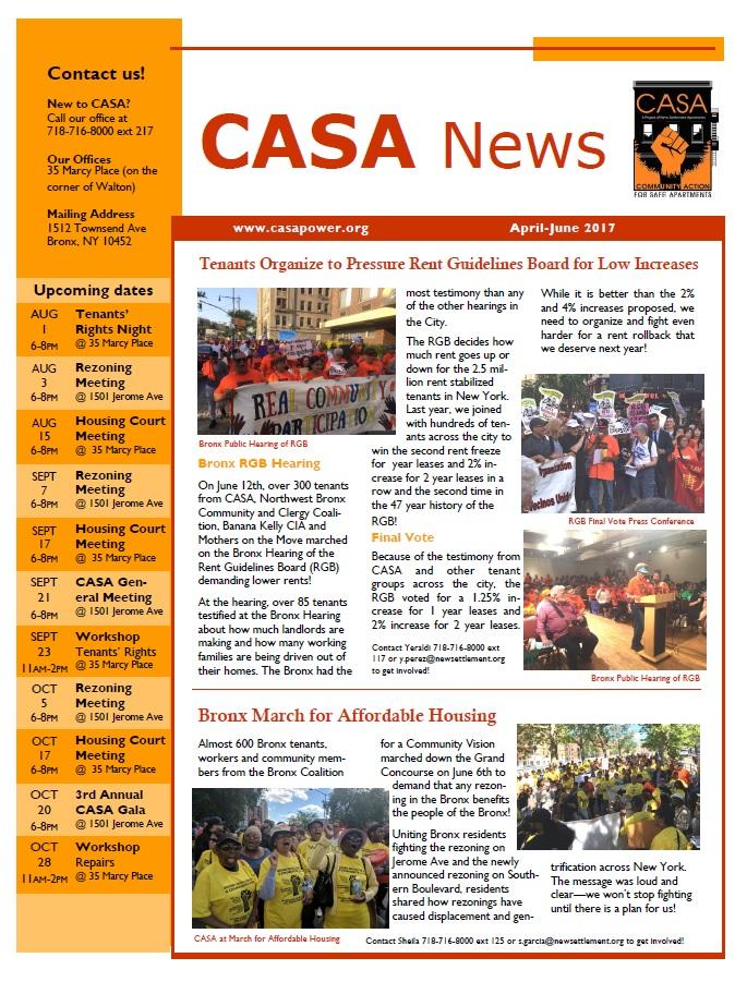 CASA newsletter apr-jun 2017 English